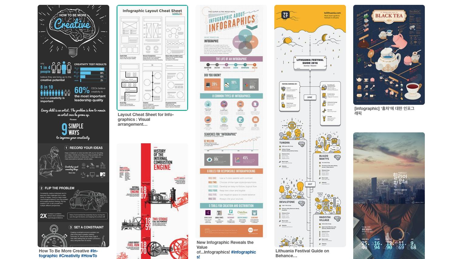 tipos de contenido para redes sociales infografias