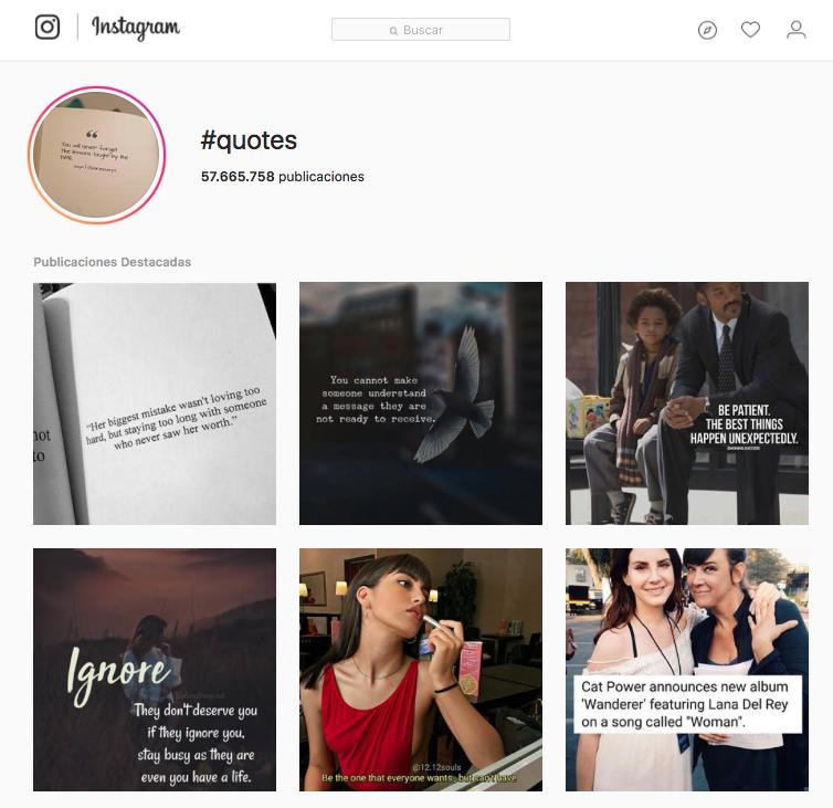 Instagram Quotes Content Marketing Coobis