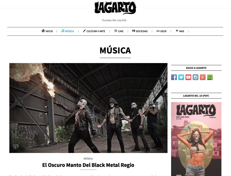 blogs de música de México lagarto