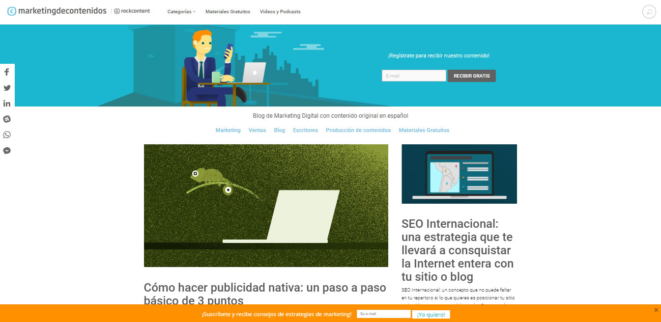blogs de marketing de contenidos
