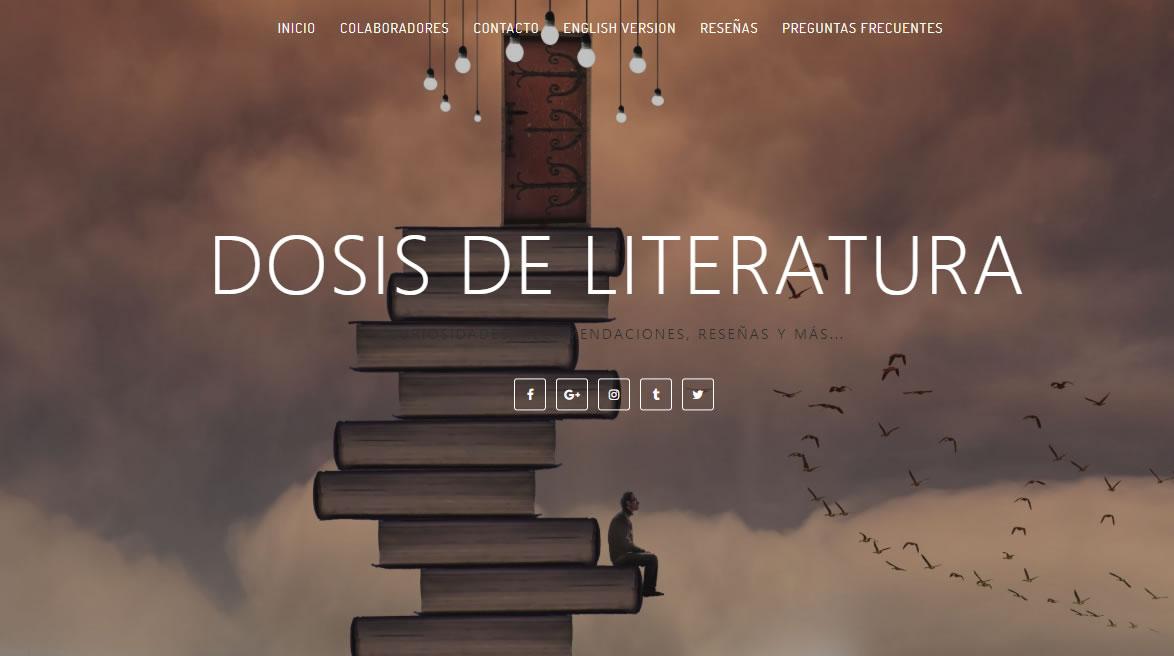 blogs de arte en México: Dosis de Literatura