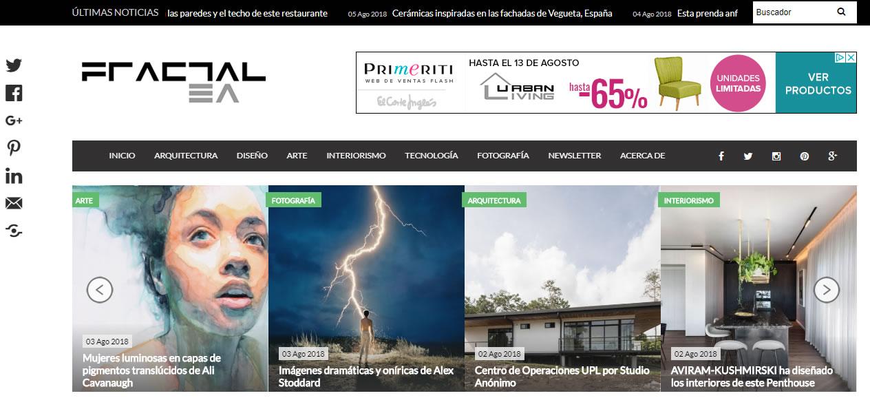 blogs de arte en México: Fractal