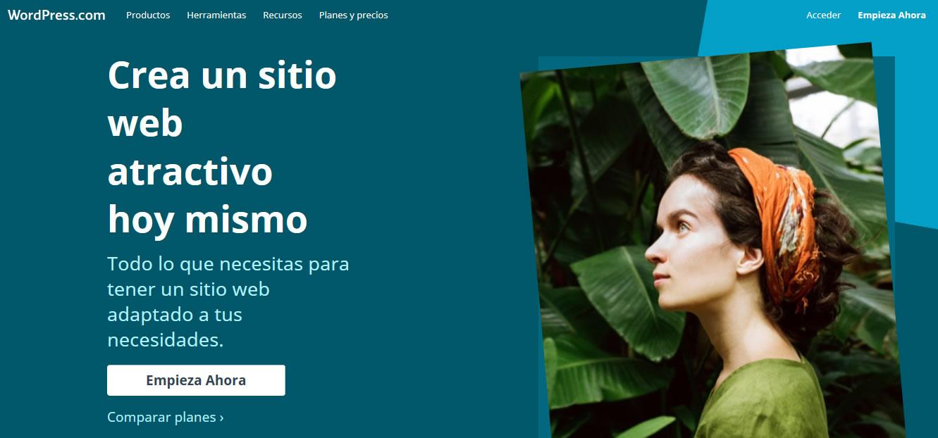 plataformas para crear blogs en 2018: WordPress