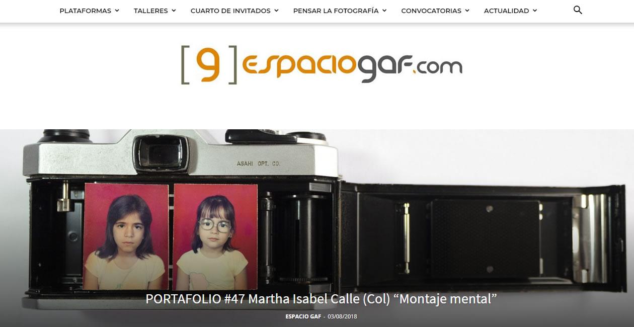 blogs de arte en México: Espacio GAF
