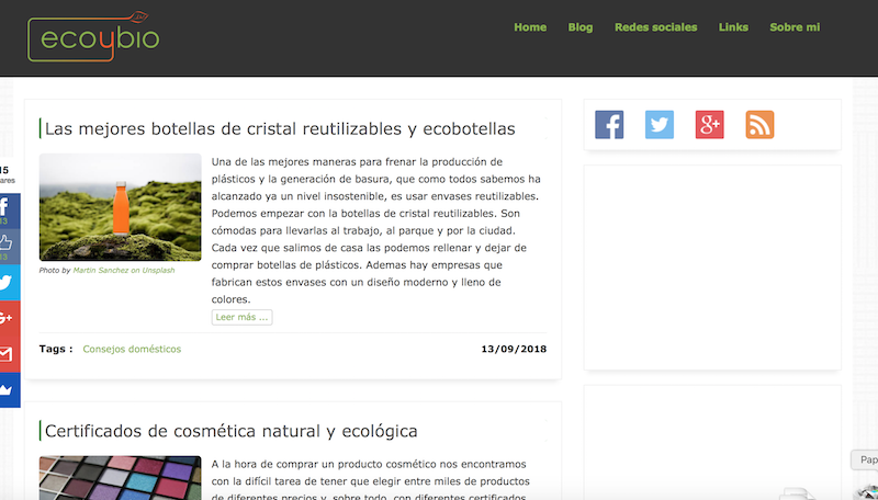 Blogs BIO.Eco y Bio