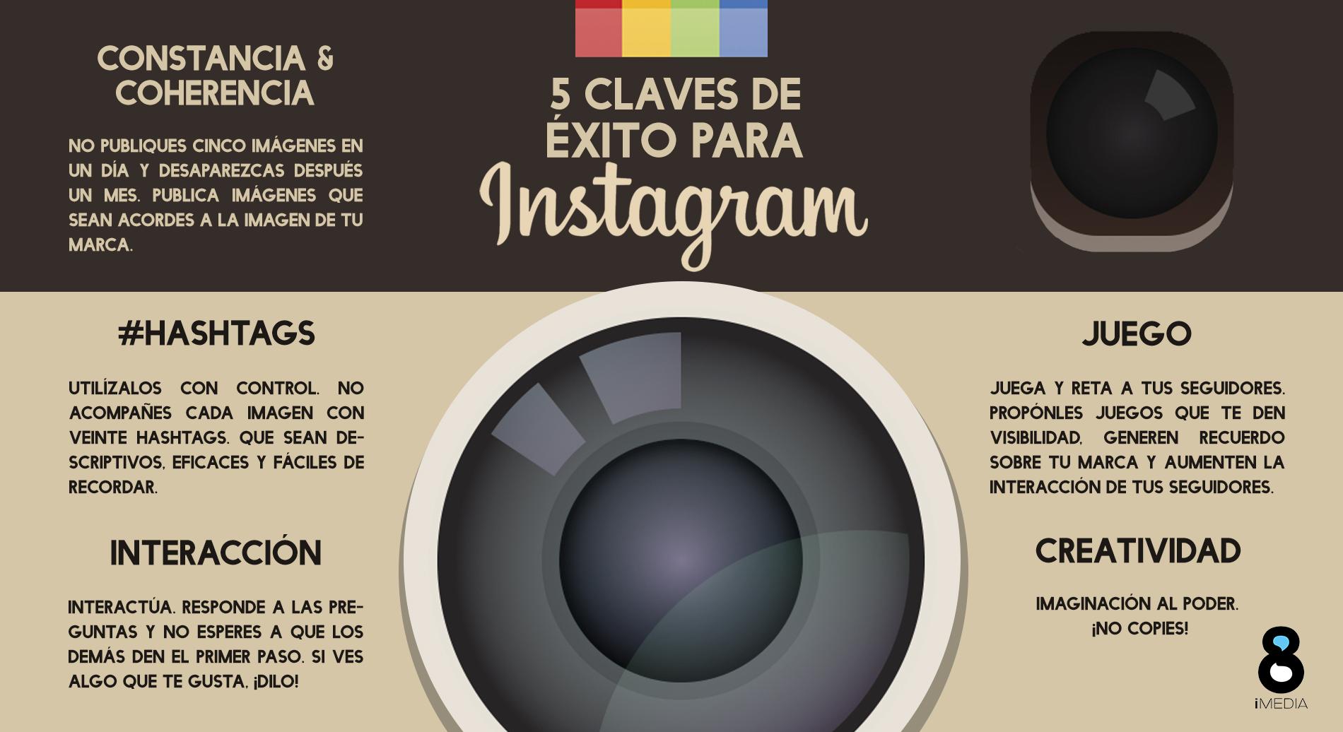 Nuevo algoritmo de Instagram. Recursos creativos