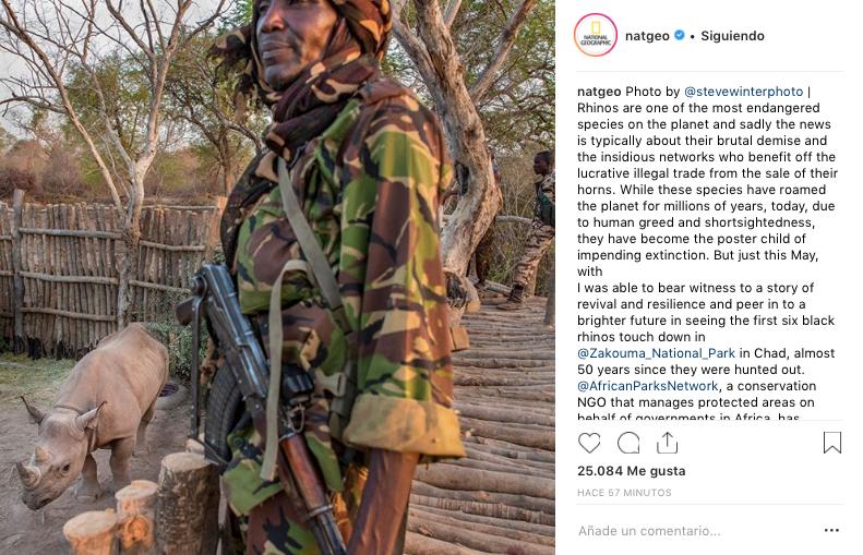 national geographic cuentas de instagram con más seguidores