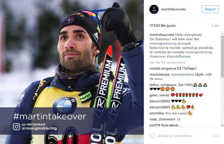 takeover comentarios en Instagram