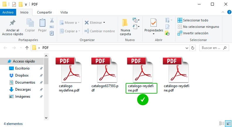 SEO de los archivos PDF. URL