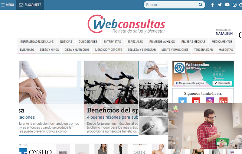 Blogs BIO. Web Consultas