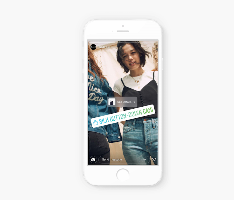 Posibles problemas de Instagram Shopping en Stories y Explore