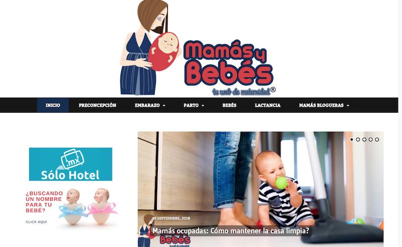 blog familiares de México Mamas y bebes