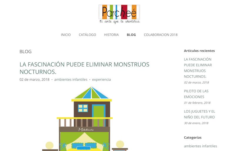 blog familiares de México Parcheé