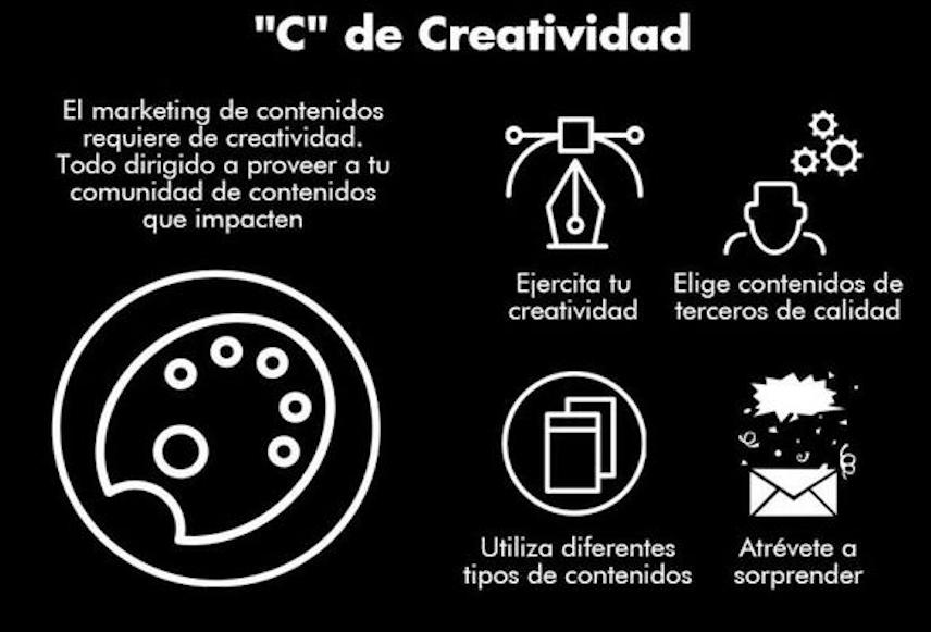 creatividad las 7C del marketing de contenidos