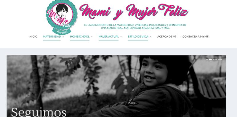 blog familiares de México Mami y mujer feliz