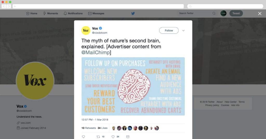 Publicidad nativa en Twitter