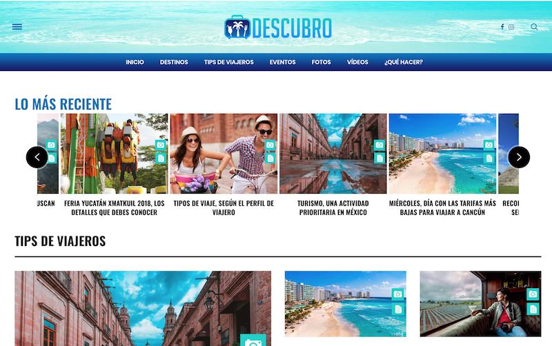 blogs de viajes de México descubro