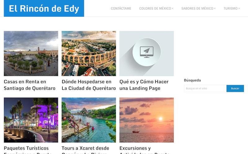blogs de viajes de México El rincón de Edy