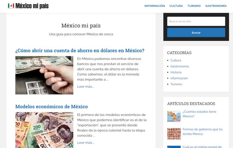 blogs de viajes de México México mi país
