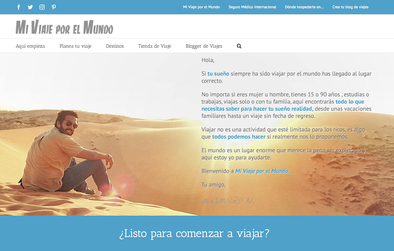 blogs de viajes de México Mi Viaje por el Mundo