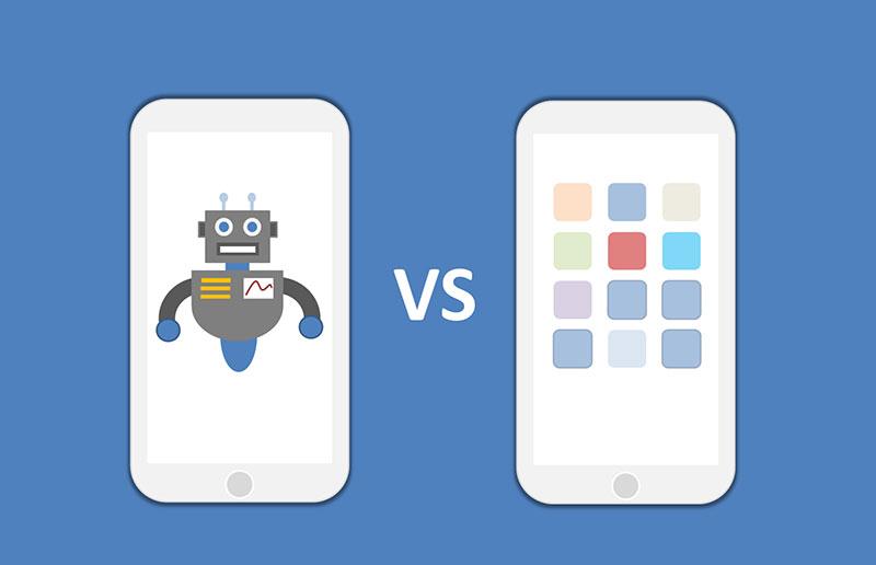 ¿Son los bots los sustitutos de las aplicaciones?