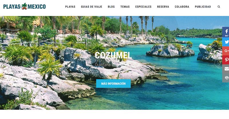 blogs de viajes de México Playas Mexico