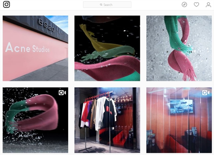 Vídeos y fotos en Instagram