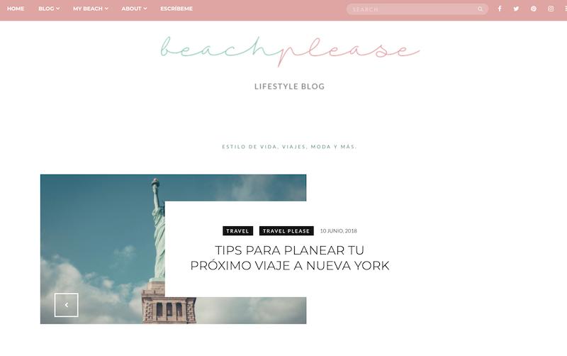 blogs de viajes de México Beach Please