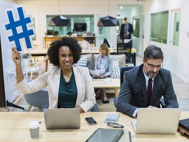 destacada Hashtags en Linkedin