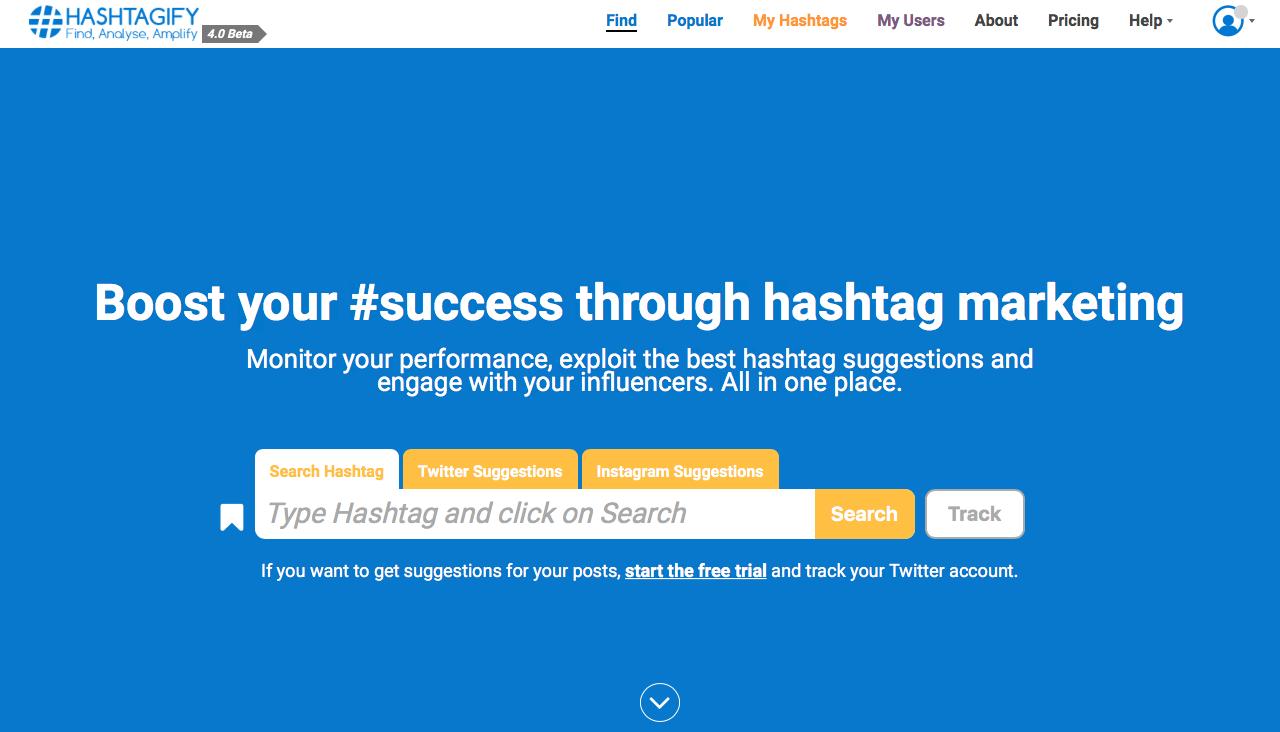 aplicación Hashtags en Linkedin