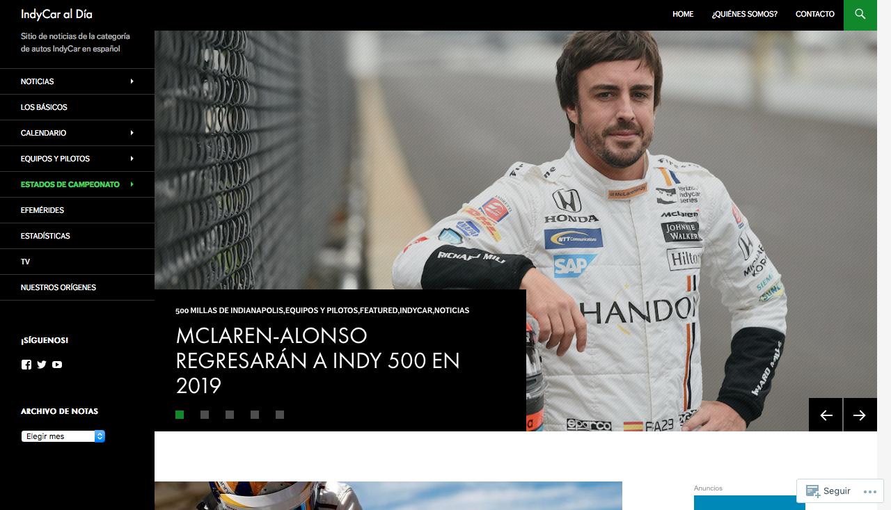 indicar blogs de motor de México