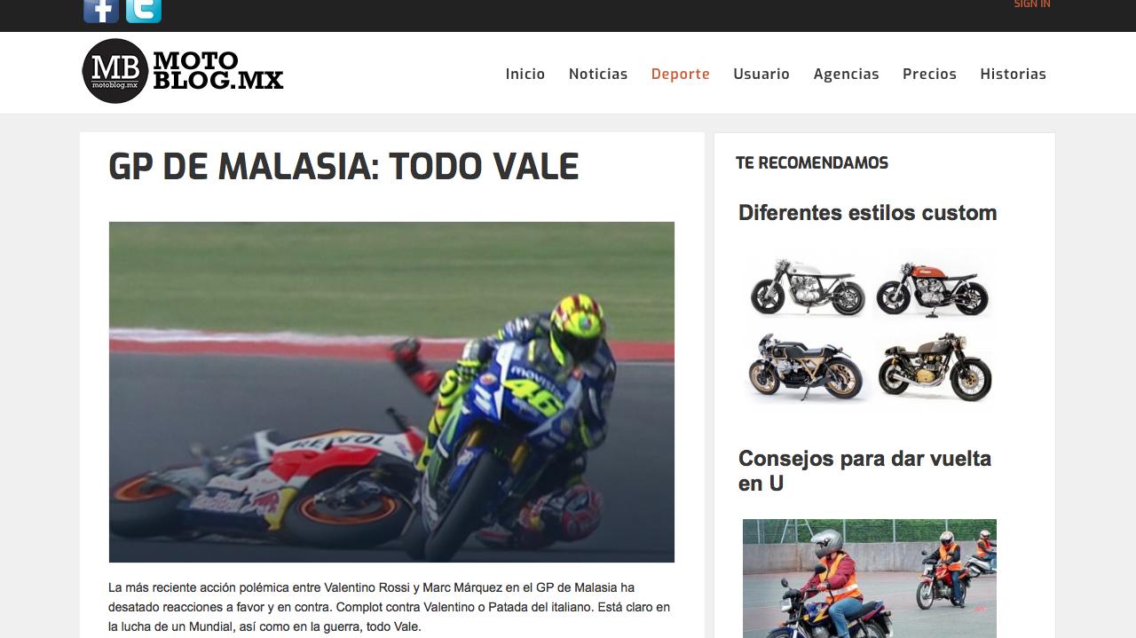 motoblog blogs de motor de México