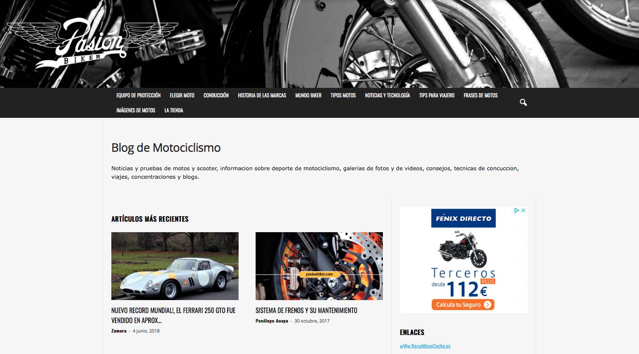 passion biker blogs de motor de México