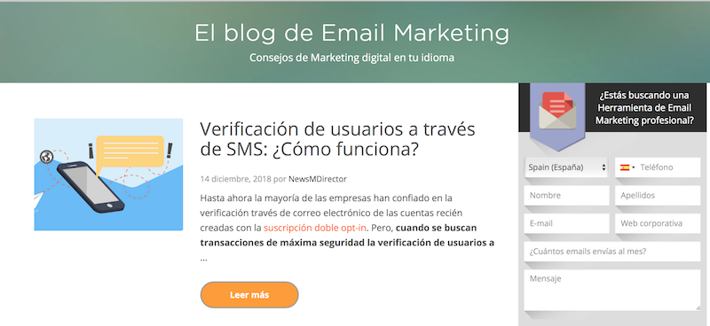 blogs de email marketing