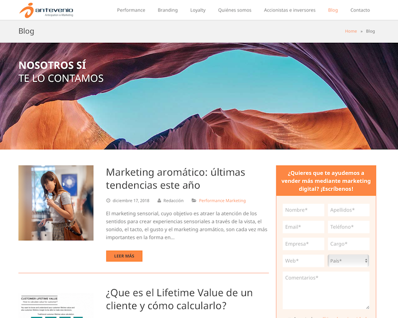 blogs de email marketing Antevenio