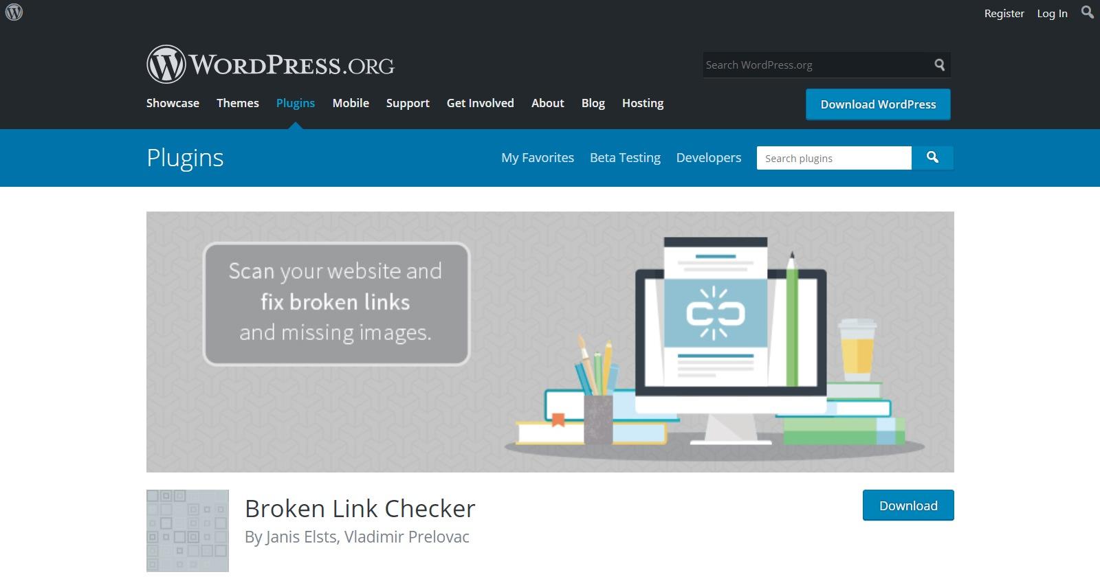 Plugins gratuitos de WordPress link checker