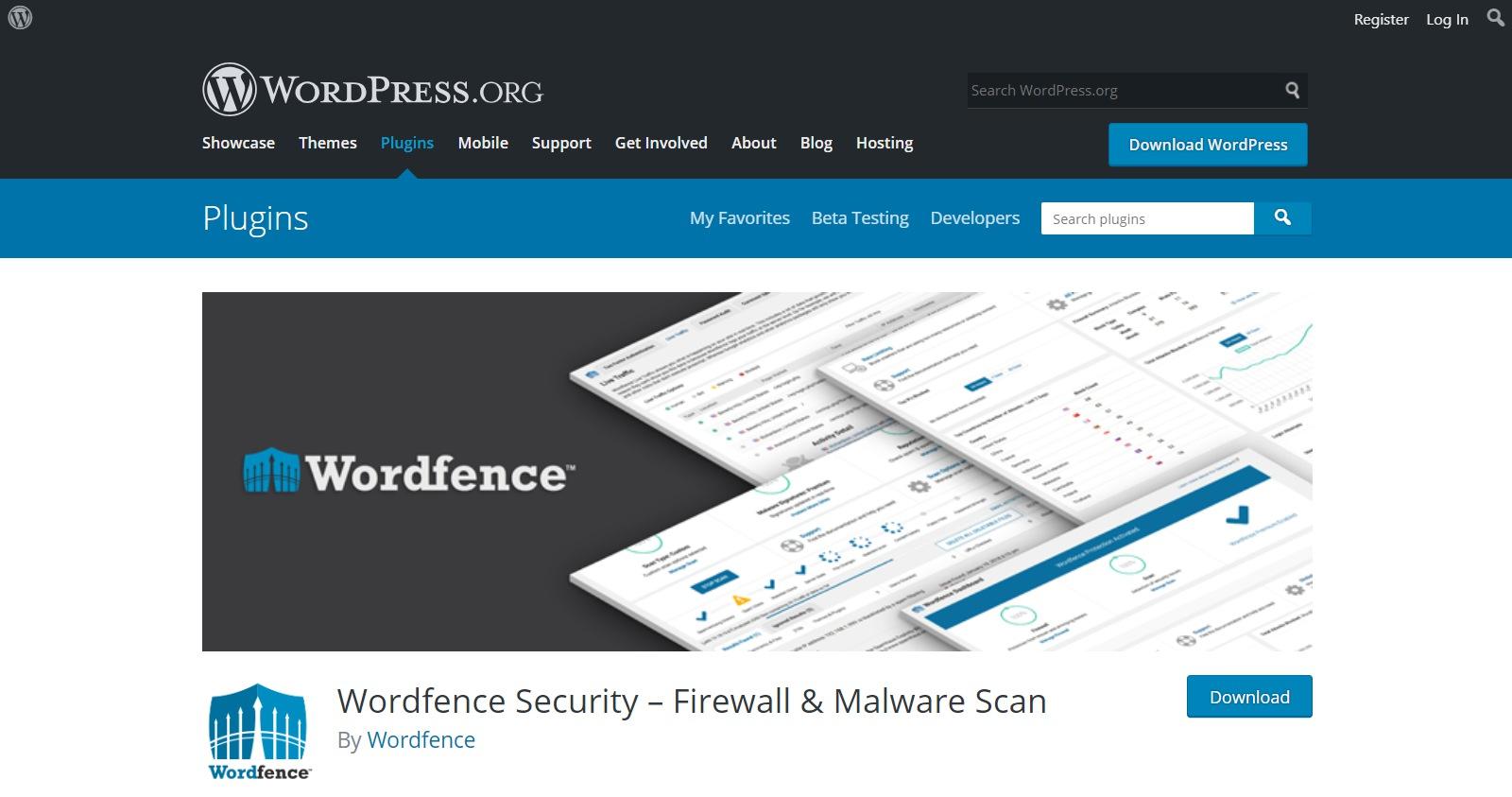 Plugins gratuitos de WordPress wordfence