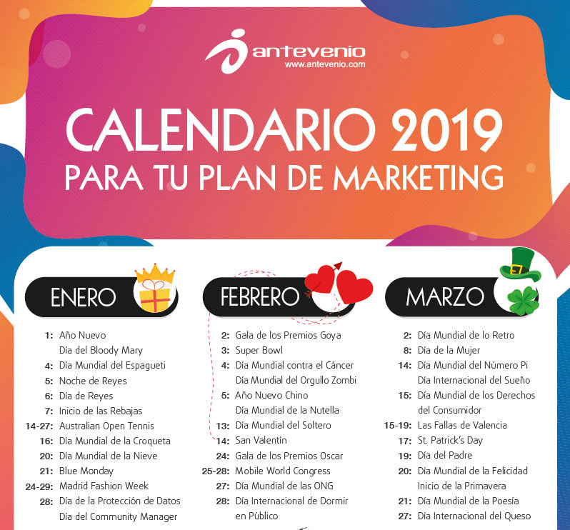 Calendario de Marketing 2019