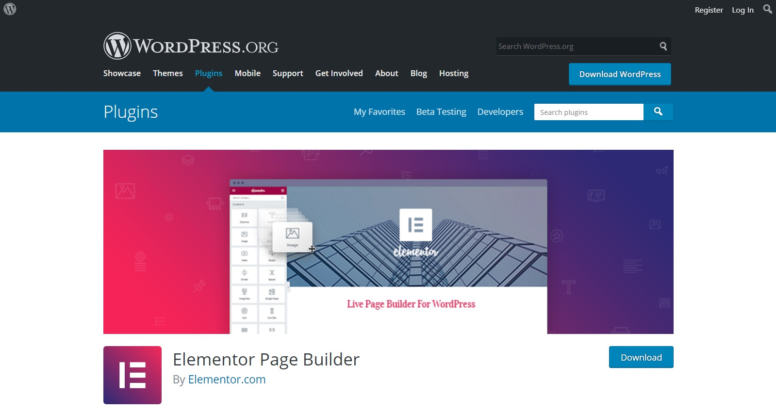 Plugins gratuitos de WordPress elementor