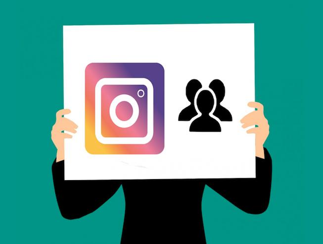 Hashtags en Instagram grafico