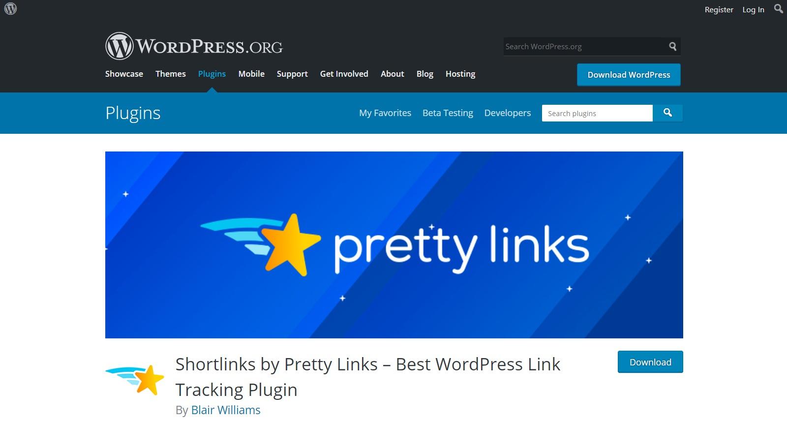Plugins gratuitos de WordPress prettylinks