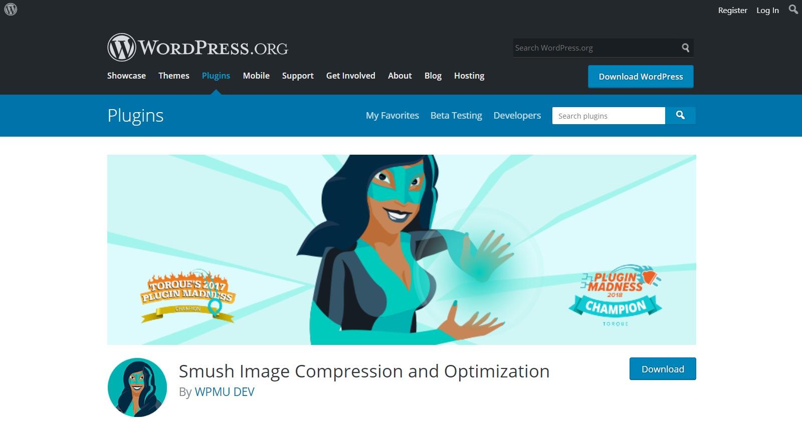 Plugins gratuitos de WordPress smush