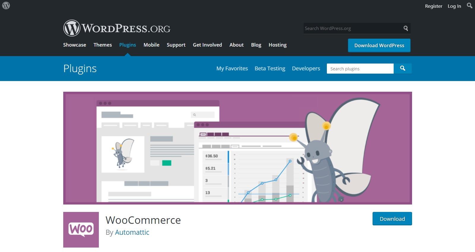 Plugins gratuitos de WordPress woocommerce