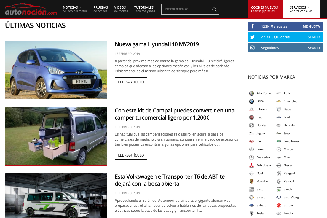blogs de motor en España autonocion