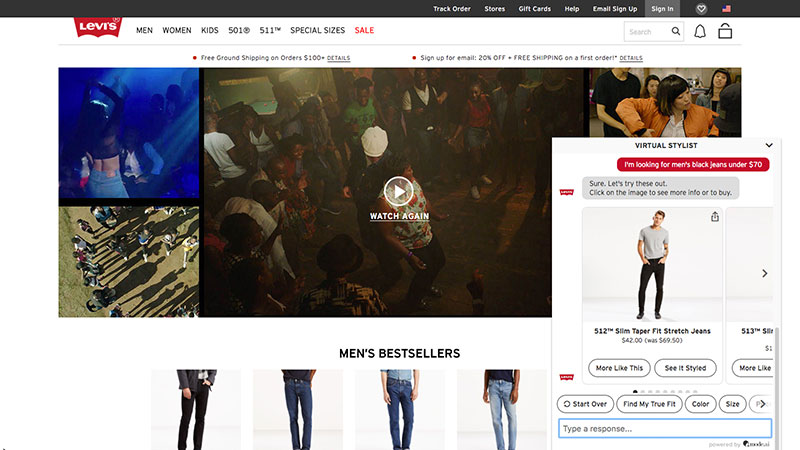 Estrategias de Branded Content para sector moda Levi