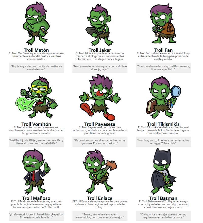 Tips para lidiar con trolls