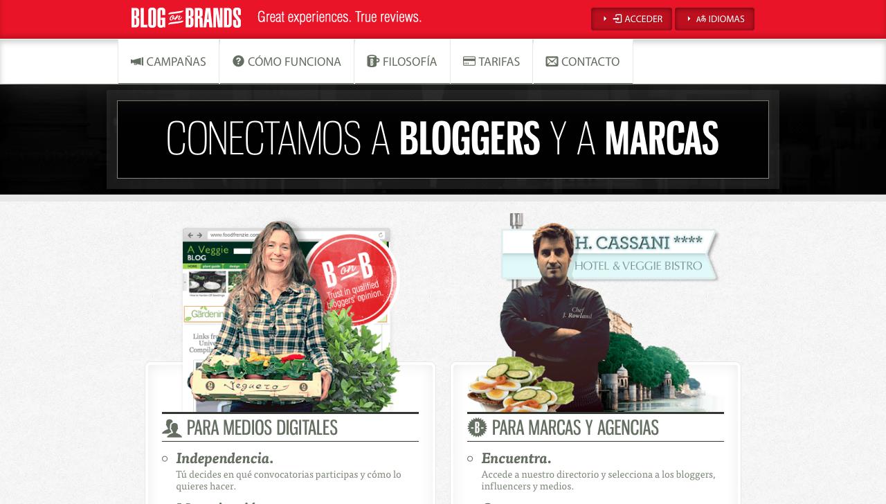 plataformas de influencer marketing blog on brands