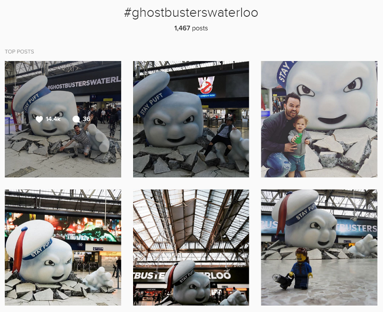 Branded content y marketing experiencial: Ghostbusters