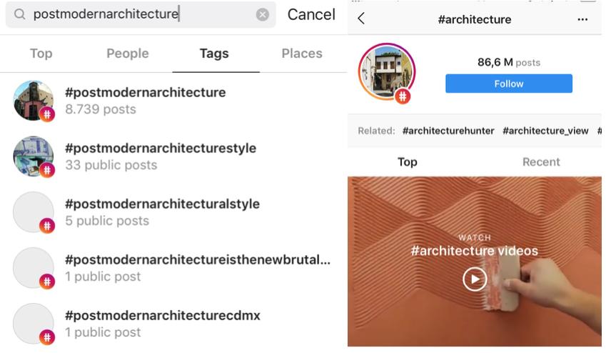 conseguir más visibilidad en Instagram hashtags