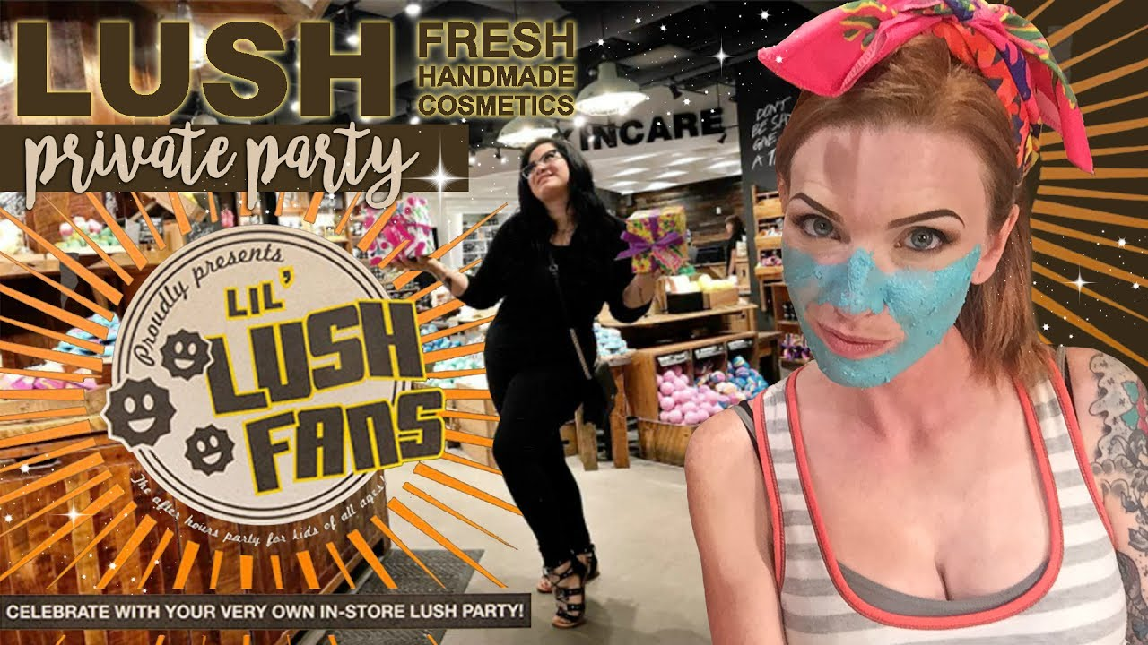 Branded content y marketing experiencial: Lush